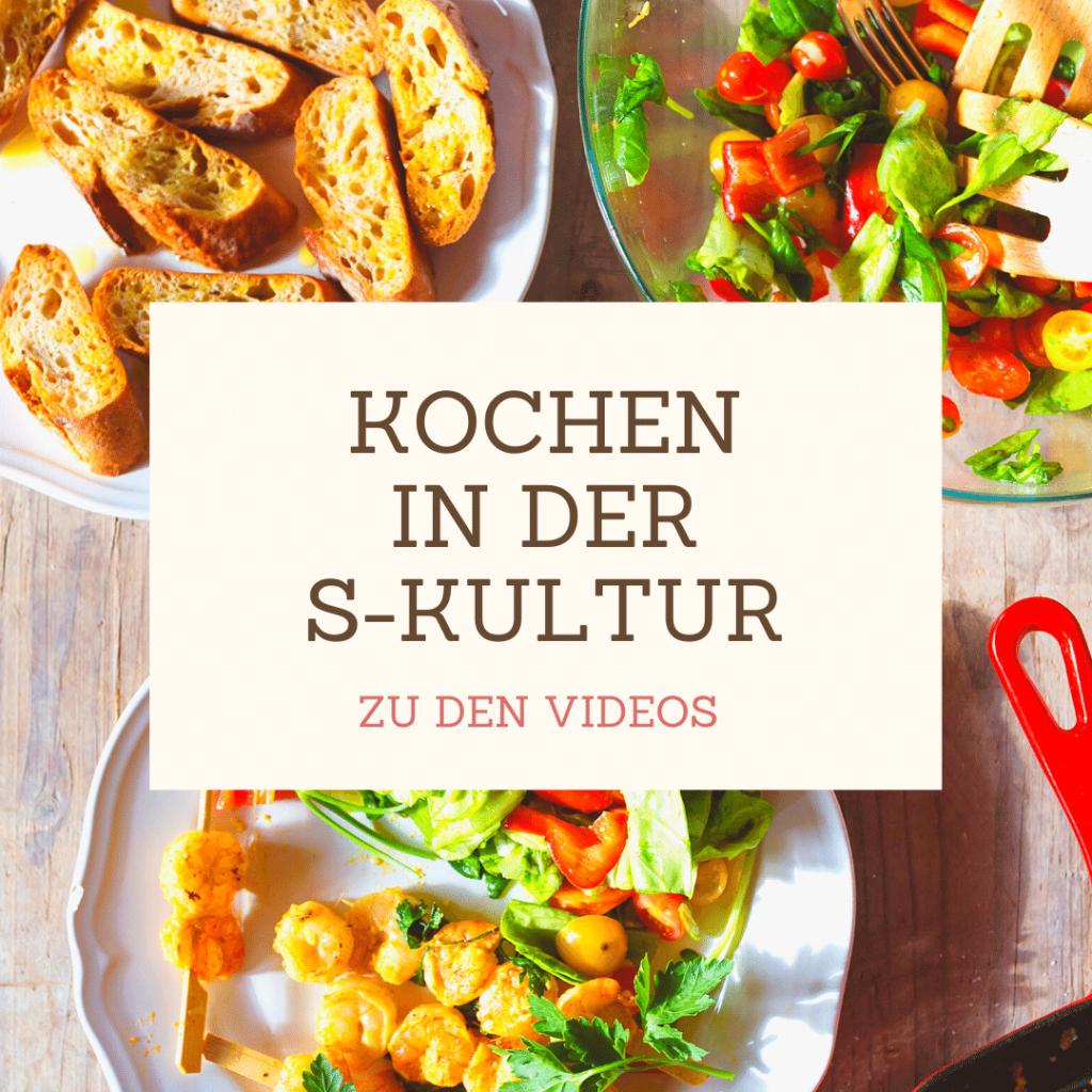 Kochen in der S-Kultur Videos- Einkaufen in Ansbach