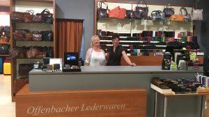 Offenbacher Lederwarengeschäft in Ansbach