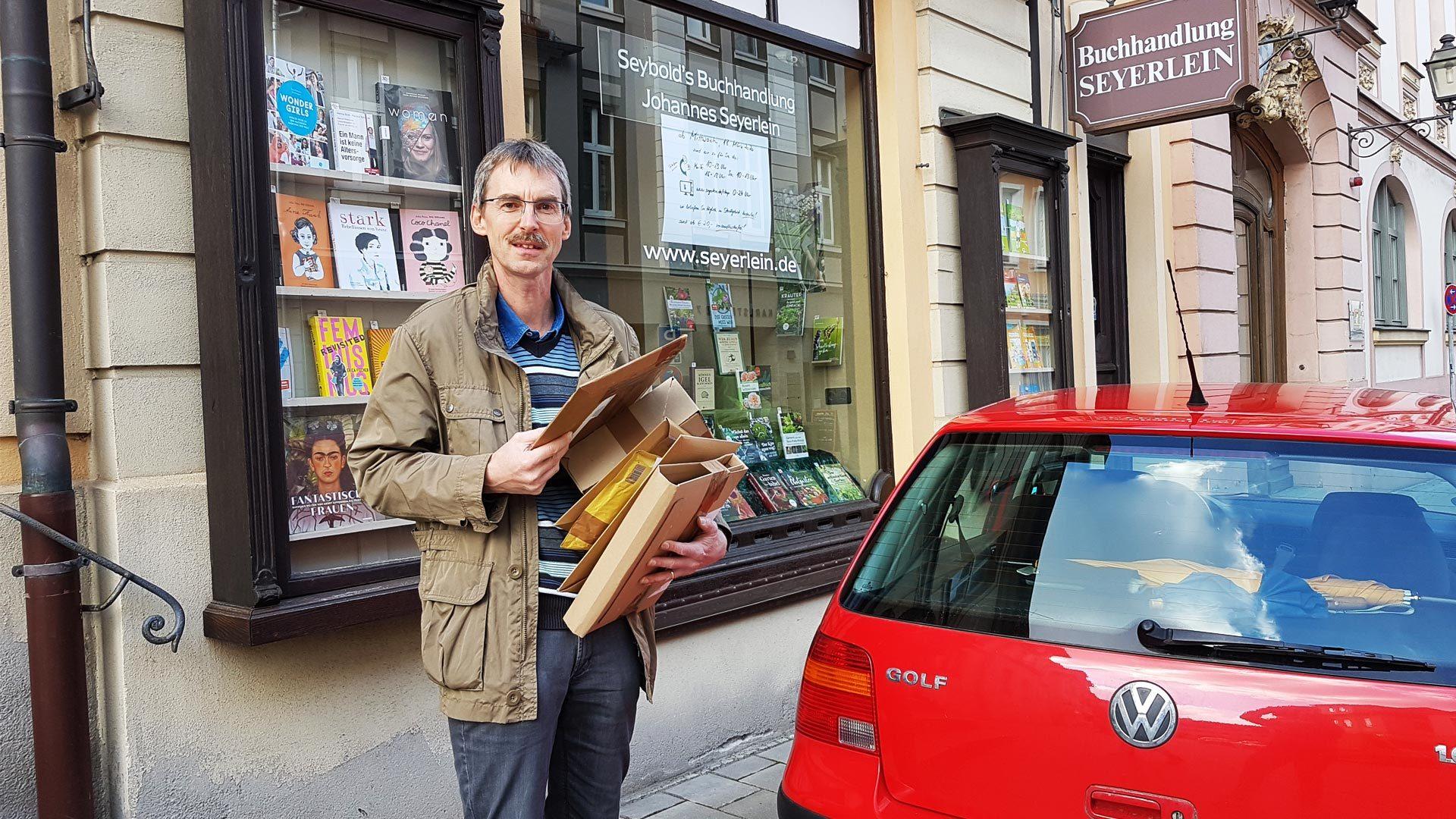 Buchhandlung Seyerlein in Ansbach