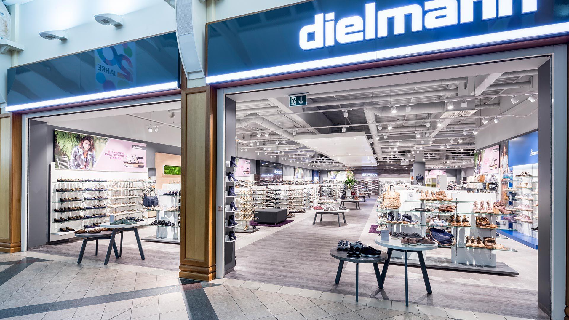 Dielmann Schuhe im Brücken-Center Ansbach
