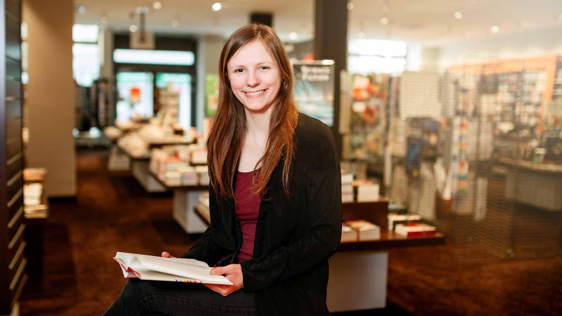 Buchhandlung Rupprecht Ansbach - Innenansicht